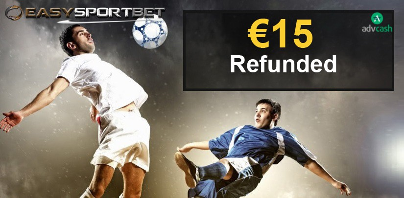 €15 Free bet with Advcash