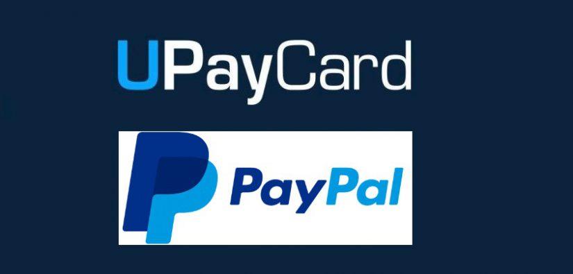 Paypal deposit via UpayCard