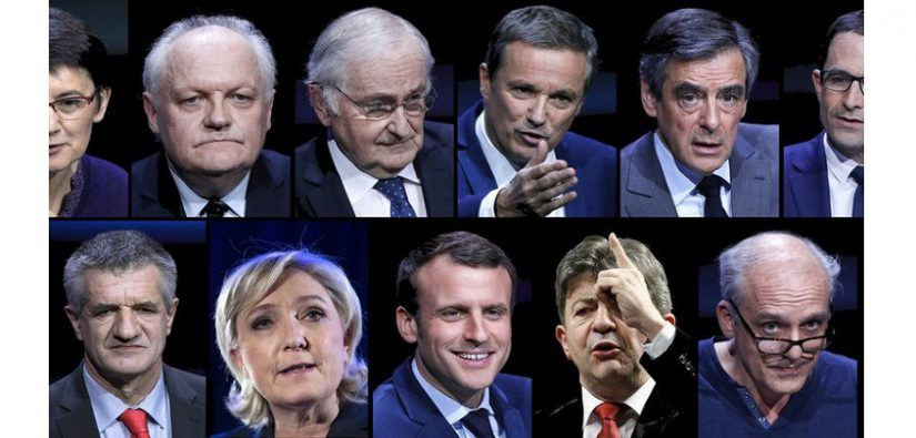 Betting on 2017 French presidential election