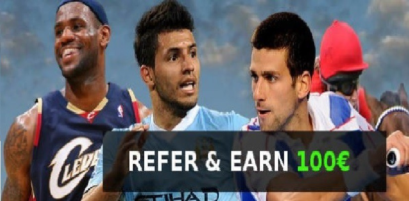 Promotion refer and earn 100€
